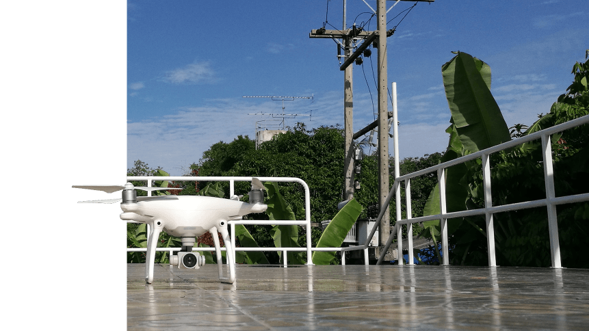 With support from drones, AI can help utility companies save energy.