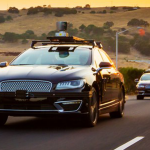 An Aurora self-driving car