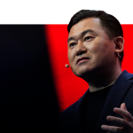 Rakuten founder and chief executive officer Mickey Mikitani