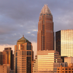 Charlotte, NC, is one of the new top tech hubs in the US.