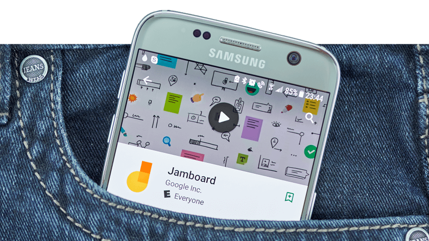 Google's Ed Tech collaboration tool Jamboard
