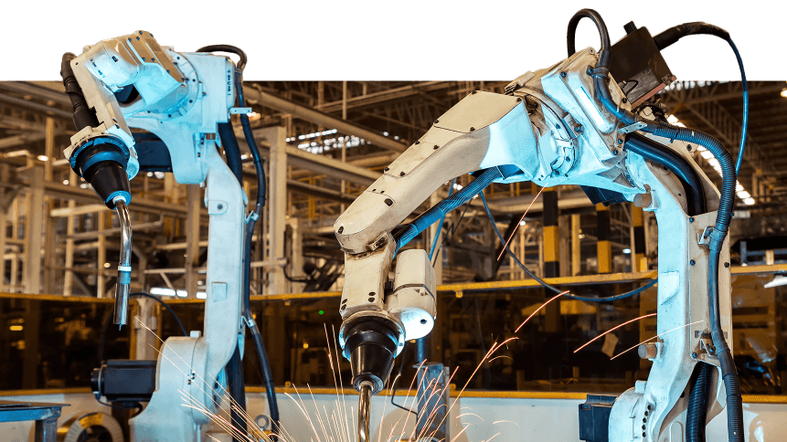 Slow robotics adoption could see productivity slump in the UK.