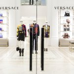 Mannequins in a Versace store in Manhattan after hours.