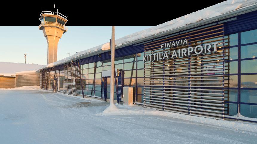Finavia's Kittilä airport.