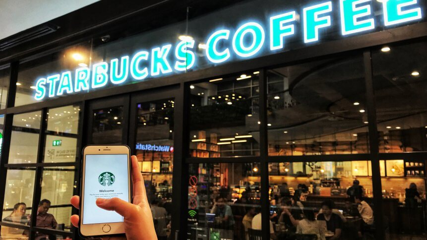 the Starbucks app will have 25.2 million users this year