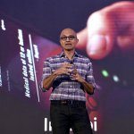 Microsoft CEO, Satya Nadella. Microsoft Teams claimed it generated 900 million meeting minutes last week, amid a spike in remote working