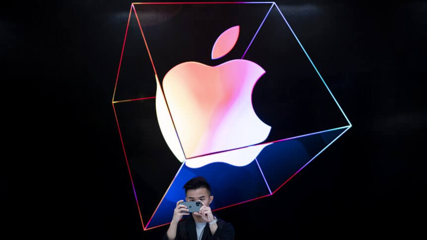 Apple has been keen to take its AR ventures to the next phase. Source: AFP