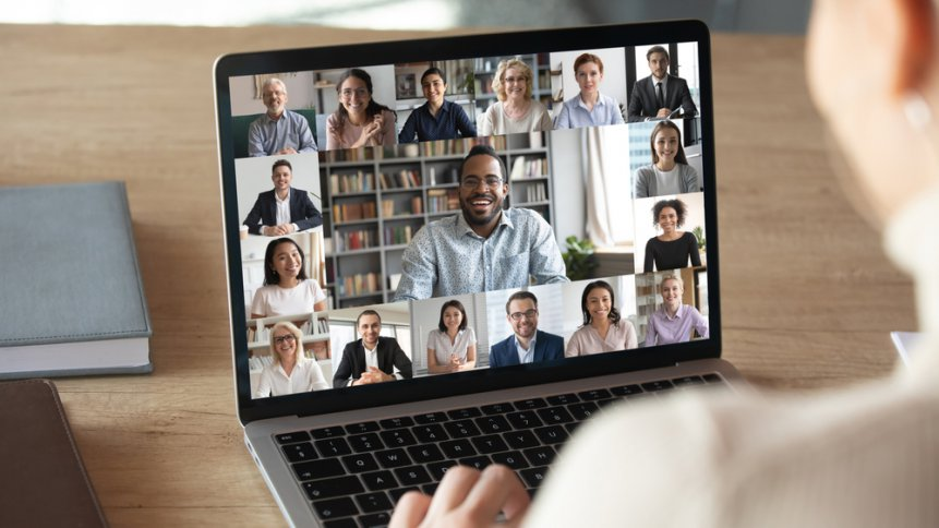 Video call is the new form of communication for businesses globally. Source: Shutterstock