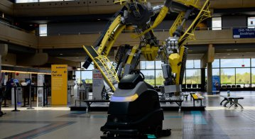Are floor cleaning robots the vanguard that will herald more 'public' uses of robotics outside of heavy industry?