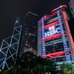 HSBC skyscraper in Hong Kong