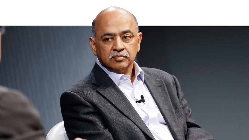 Arvind Krishna was promoted to IBM CEO in April 2020