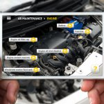 Car manuals utilizing AR features