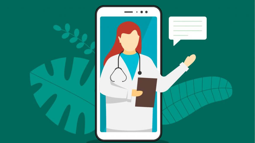 The adoption of telehealth solutions are expanding rapidly. Source: Shutterstock