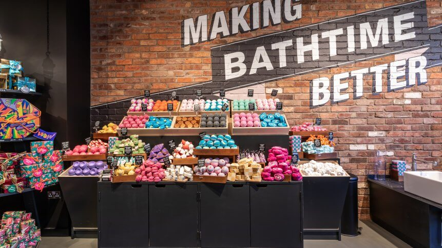 Lush was founded in 1995. Source: Lush