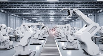 Industrial robots are on the rise. Source: Shutterstock
