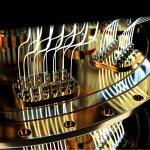 quantum computer closeup 3d render