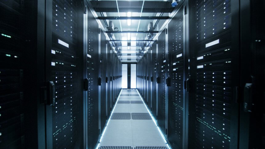 Colocation services enable enterprises to enlist cloud solutions. Source: Shutterstock