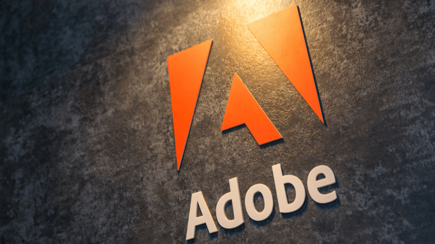 Adobe Systems Logo. Adobe is a multinational software company that produces and sells multimedia and creativity software.
