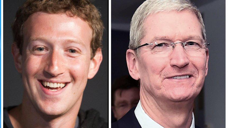 Facebook vs Apple - The clash between two tech giants