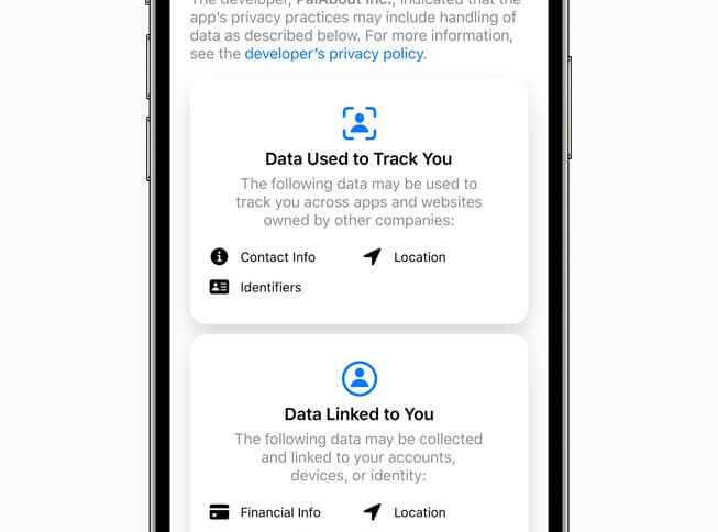 The impact of Apple's new app tracking rules on tech giants