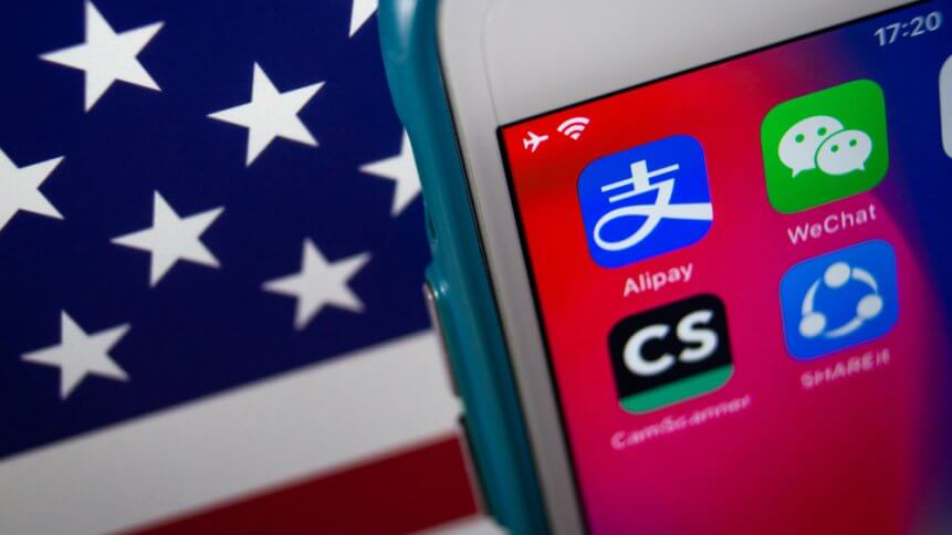 The ubiquity of those apps in China means the executive order could be a problem for US companies.