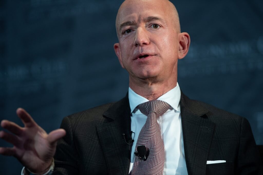 Jeff Bezos, founder and CEO of Amazon