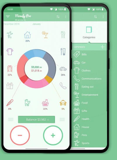 The app has also featured tracking recurring records, multiple currency support, and the built-in calculator.