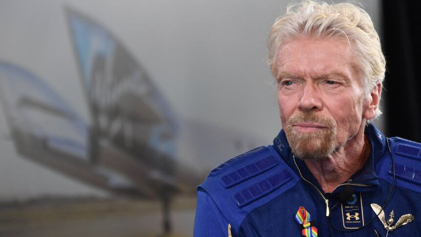 """Sir Richard Branson speaks after he flew into space aboard a Virgin Galactic vessel, a voyage he described as the """"experience of a lifetime"""" -- and one he hopes will usher in an era of lucrative space tourism"""