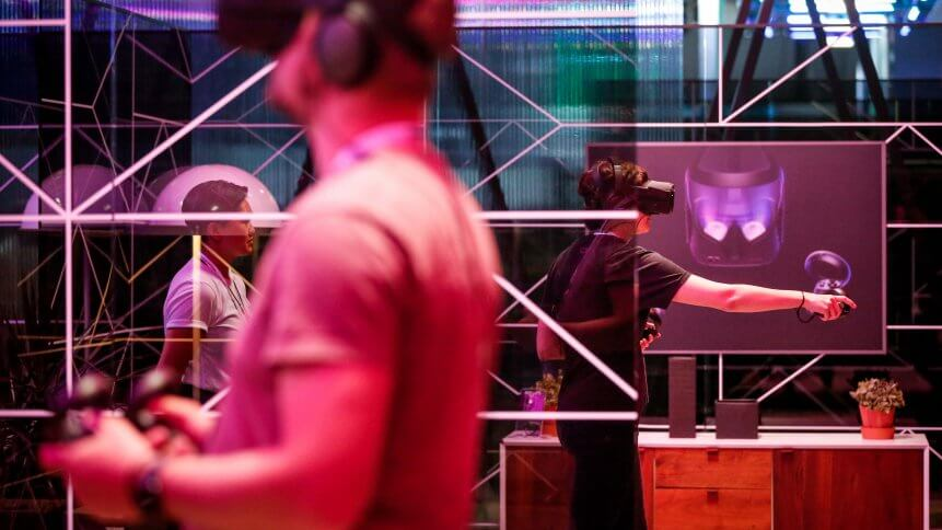 Facebook & Oculus beta platform allows remote employees to collaborate in a VR meeting space