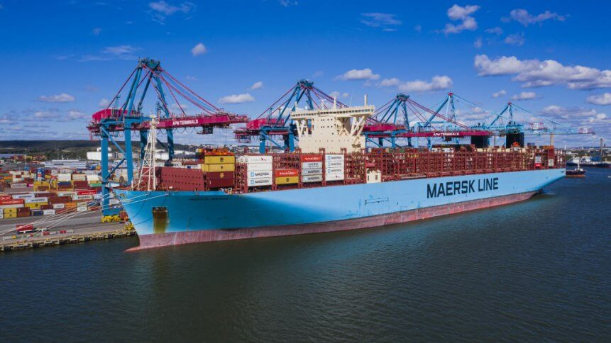Thanks to booming demand, Danish shipping giant Maersk can invest in growing its e-commerce footprint to compliment its logistics strengths