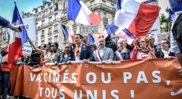 Why are many protesting against French Covid health pass?